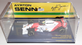 Minichamps McLaren Ford MP4/8 Ayrton Senna 1:43 Winner European GP 1993 Donington Park