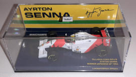 Minichamps McLaren Ford MP4/8 Ayrton Senna 1:43 Winner Japanese GP 1993 - Marlboro