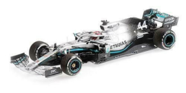 Minichamps Mercedes-AMG W10 Lewis Hamilton 1/43 USA GP, World Champion 2019
