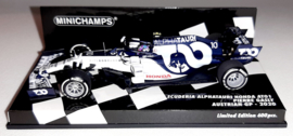 Minichamps Scuderia AlphaTauri Honda AT01 Pierre Gasly 1:43 Austrian GP 2020