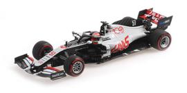 Minichamps Haas F1 Team VF-20 #51 Pietro Fittipaldi 1:43 Abu Dhabi GP 2020