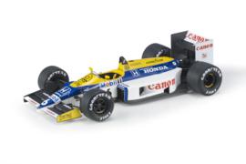 GP Replicas GP78B Williams Honda FW11 1986 #6 Nelson Piquet 1:18