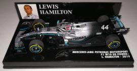 Mercedes AMG F1 W10 EQ Power+ 2019 Lewis Hamilton