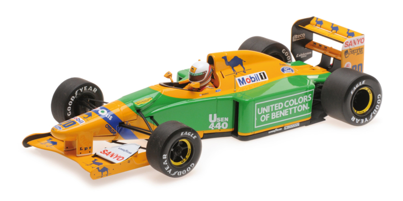 1:18 Benetton Sportsystem Decal für Schumacher Benetton B192