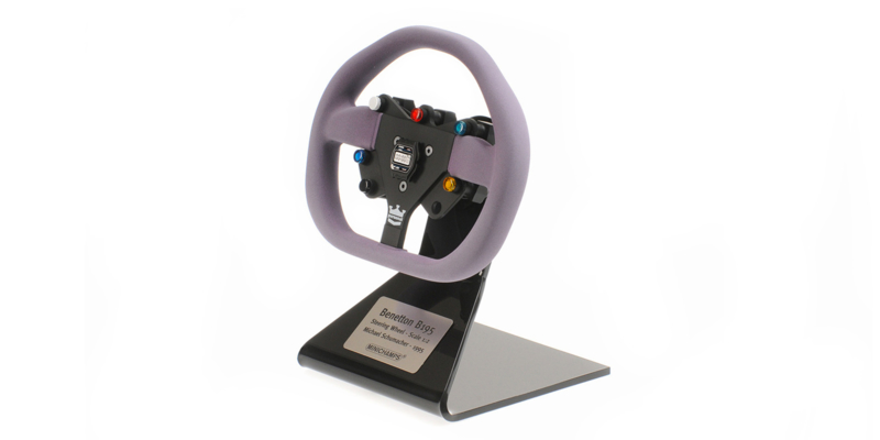 Minichamps Benetton Renault B195 1995 Michael Schumacher Steering Wheel 1/2