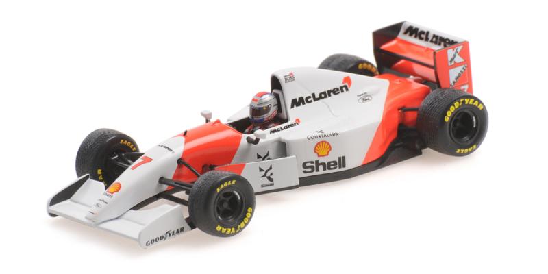 Minichamps McLaren Ford MP4/8 Michael Andretti 1:43 European GP 1993 Donington Park