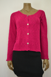 Billy B Vest Cardigan Carrie fucsia