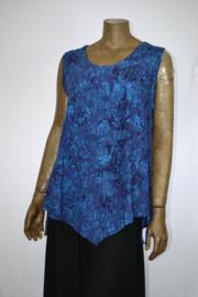 Disini 170 shirt blauw/paars