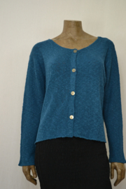 Billy B Vest Cardigan Carrie teal