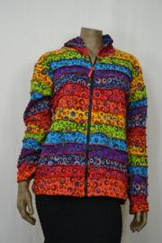 Laxman Vest met puntmuts XXL LC 20-58 regenboog