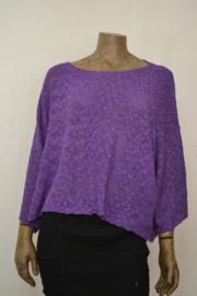 Billy B  trui / shirt Top Imma bright purple