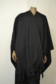 Boris Vest Omslagdoek zwart