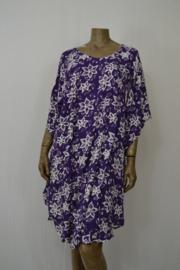 Billy B Jurk  / Poncho 169 purple met kruis voor of achter te dragen