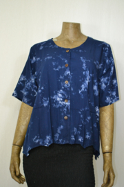 Normal Crazy Blouse Top Hyacint s/s