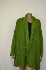 Billy B Vest Cardigan Max fem green   L/LX
