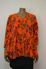 Billy B Blouse 151 mix Batik oranje
