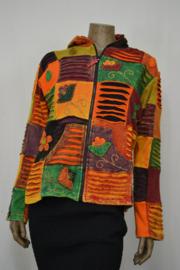 Laxman Vest 19/16met capuchon oranje mt. L/XL