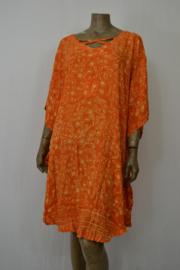 Billy B Jurk  / Poncho 169 oranje met kruis voor of achter te dragen