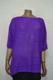 Billy B Pull Denie purple LANG 76 cm