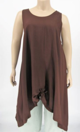Luna tuniek Maxi XL 12 brownf