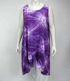 Luna tuniek Maxi XL 43 purpsin