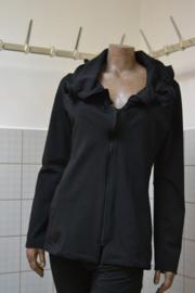 Boris Vest rits viscose peach zwart. Ook in grijs, bordeaux en grijs/zwart streep