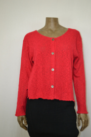 Billy B Vest  Cardigan Carrie red