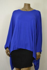 AKH Shirt / Trui oversized kobalt-blauw