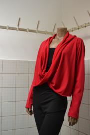 Boris Vest  rood. Ook in zwart