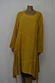 Moon Blouse / Hes  / Jurk met zakken en optrekkoord mais geel