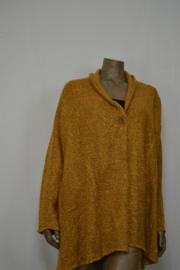 Billy B Vest Cardigan Max mustard  L/LX