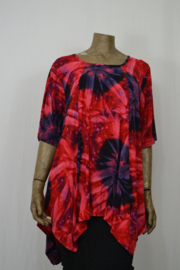 Normal Crazy Shirt Top Mosa S/S Tayday Red