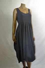 Boris jurk zwart-wit gestreept mt 2