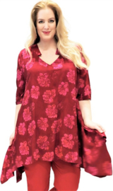 Luna blouse horizon 32 redpinkflwr