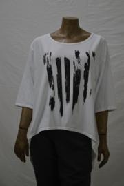 Shirt Vlam zwart