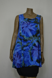 Normal Crazy Shirt 80 cm Top Aline Tai Dai blauw/groen