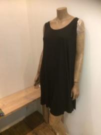 Normaal crazy A line dress zwart