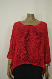 Billy B Vest / Trui Top Mary Red