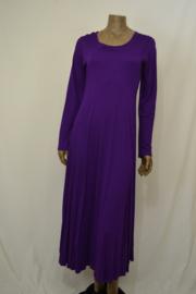 Normal Crazy jurk paars met lange mouw