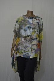 Kamuflage blouse Azie