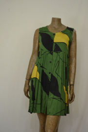 Disini Dress groen