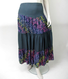 Luna skirt Didi 4 darkgreyflower