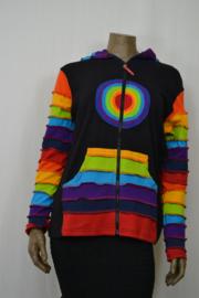 Laxman Vest met puntmuts L/XL LC 20-11 regenboog