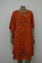 Billy B Jurk/Kaftan 169 met kruis (voor of achter) orange tak