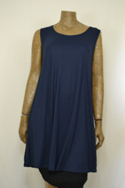 Normal Crazy Dress A line dark blue 90  cm
