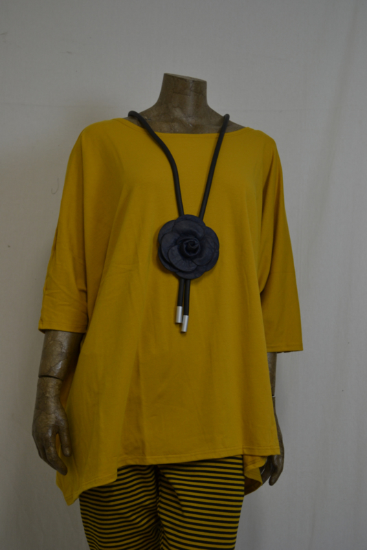 Boris Shirt 2010 geel oversized  mt. 2
