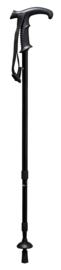 Telescoopstok met combigreep van kunststof