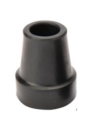 Zwart dop  1906-F-S 18 mm met stalen ring voor aluminium en carbon. ( 1 stuks )