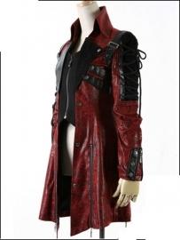 poisonblack jas rood