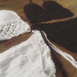 Crochet Bikini White